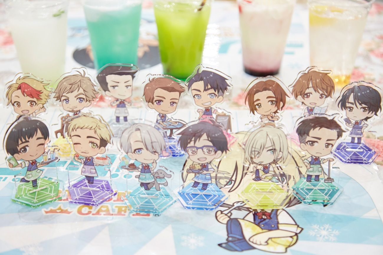 Yuri!!! on ICE Collaboration Themed Cafe | MANGA.TOKYO Photo Report
