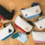 The collaborated messenger bags of Kuroko no Basket and ANONYM CRAFTSMAN DESIGN
