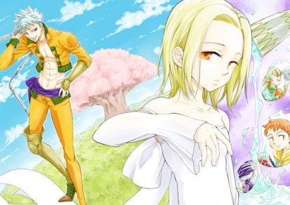 The illustration of 'Nanatsu no Taizai Seven Days –Tozoku to Seishojo-' Manga | Seven Deadly Sins