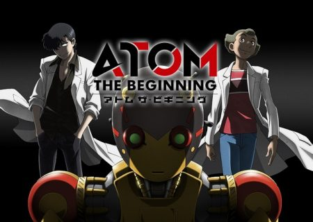 TV anime Atom the Beginning's teaser visual