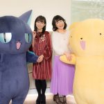 From left to right: Suppi (Spinny), Junko Iwao, Sakura Tange and Kero | Card Captor Sakura Revival Event