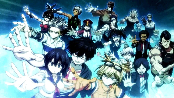 Scene from the anime PV made for Blood Lad