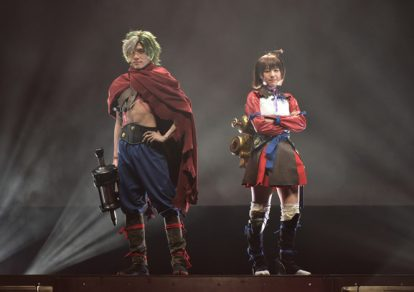 "2.5 Escape Stage 'Kabaneri of the Iron Fortress'""dress rehearsal"