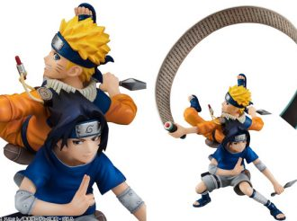 NARUTO Vol. 17 Cover Comes to Life with New Figures of Naruto and Sasuke