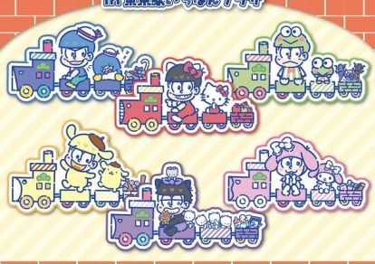 'Osomatsu-san x Sanrio Characters –We Want to Become Sanrio Pop-up Store Visual