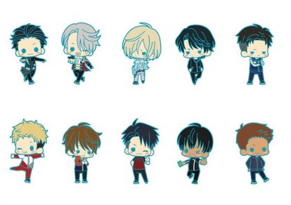 Yuri!!! on ICE Rubber Strap Collection