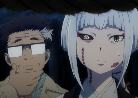 Official anime screenshot from Episode 6 of 'Blue Exorcist Kyoto Impure King Arc'!