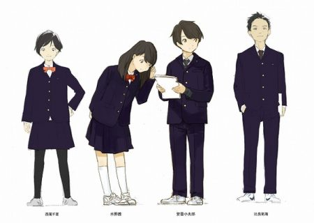 Original Anime 'Tsuki Ga Kirei' Character Illustrations