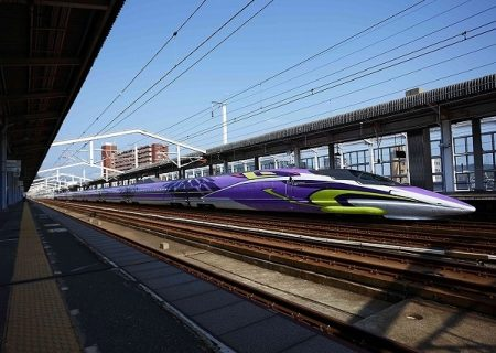 First 'Neon Genesis Evangelion'-Themed Shinkansen Tour