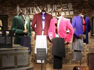 Lupin the 3rd Takes over Japanese Department Store Isetan
