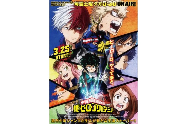 My Hero Academia (Boku no Hero Academia) Anime Visual