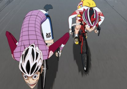 Screenshot from Episode 6 of anime Yowamushi Pedal NEW GENERATION
