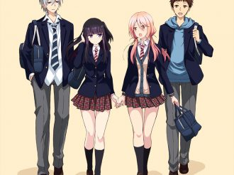 Yuri Anime 'NTR: Netsuzou Trap' Reveals New Key Visual