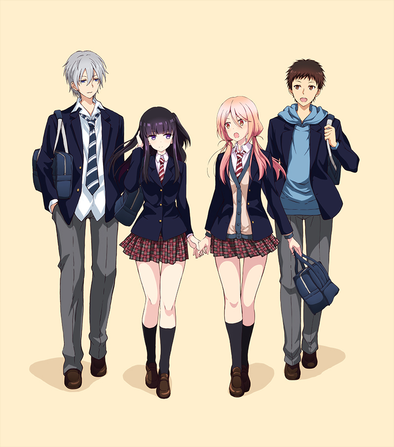 Yuri Anime 'NTR: Netsuzou Trap' New Key Visual