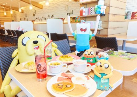 'Adventure Time' Themed Cafe @ Sweets Paradise | Jake