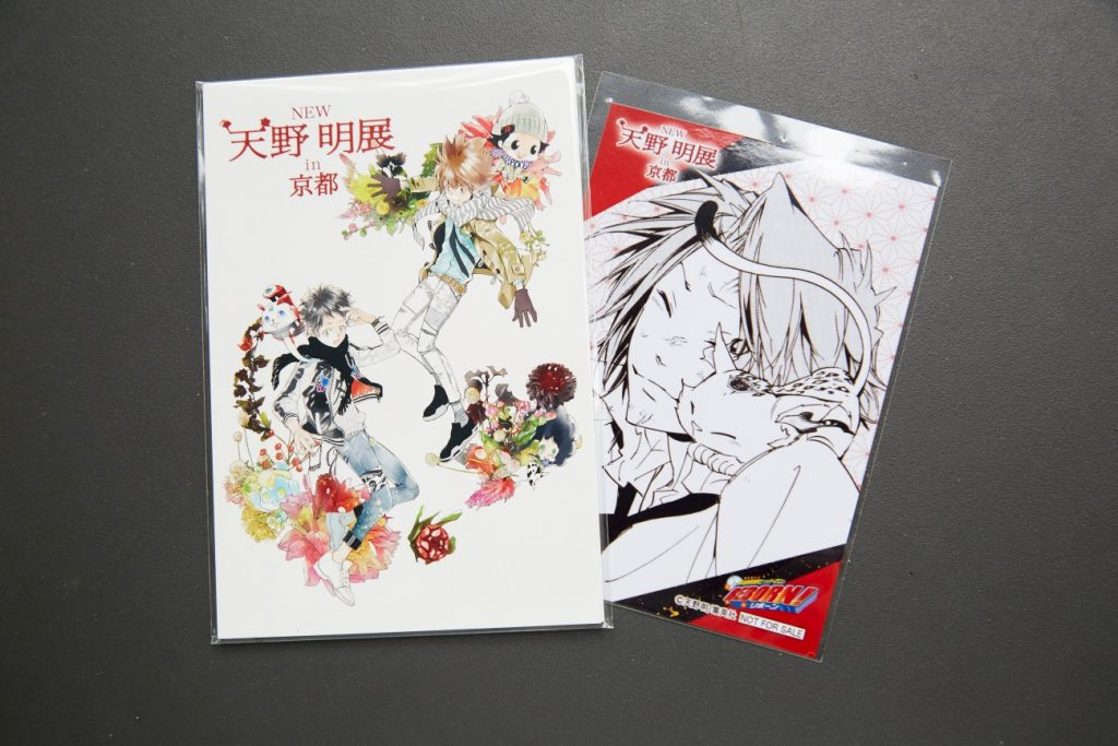 Postcard Set | MANGA.TOKYO Giveaway: Limited-Edition Items from 'NEW Akira Amano Exhibition in Kyoto'