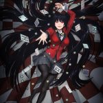 Teaser Visual for the anime 'Kakegurui'