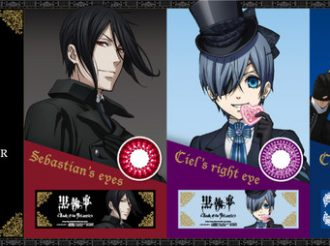 'Black Butler' Color Contacts Lets you Have Eyes Like Sebastian & Ciel