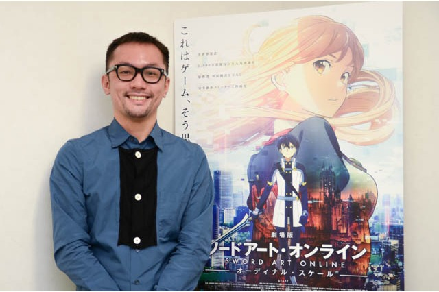 'Sword Art Online: Ordinal Scale' Interview with Director Tomohiko Itoh