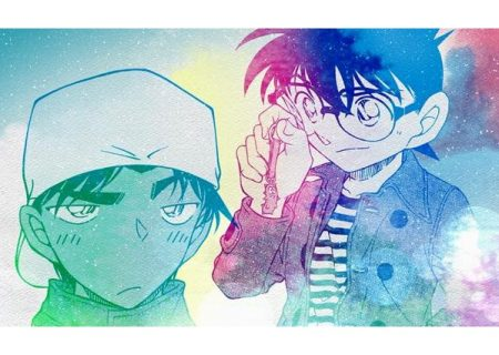 A special clip called 'Love Letter Movie' from anime movie Detective Conan: Crimson Love Letter shows Conan and Heiji have a boys' talk about confessing their love.