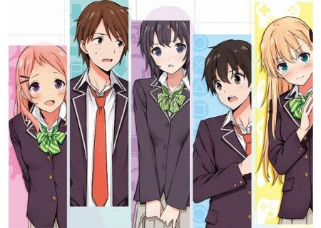 Characters of Rom-Com Anime 'Gamers!'