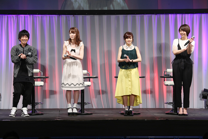 Anime 'Re:Creators' Stage Report / AnimeJapan 2017
