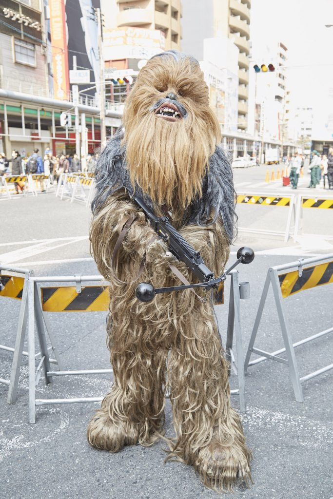 Nipponbashi Street Festival 2017 Cosplay Photo Report | Chewbacca from Star Wars