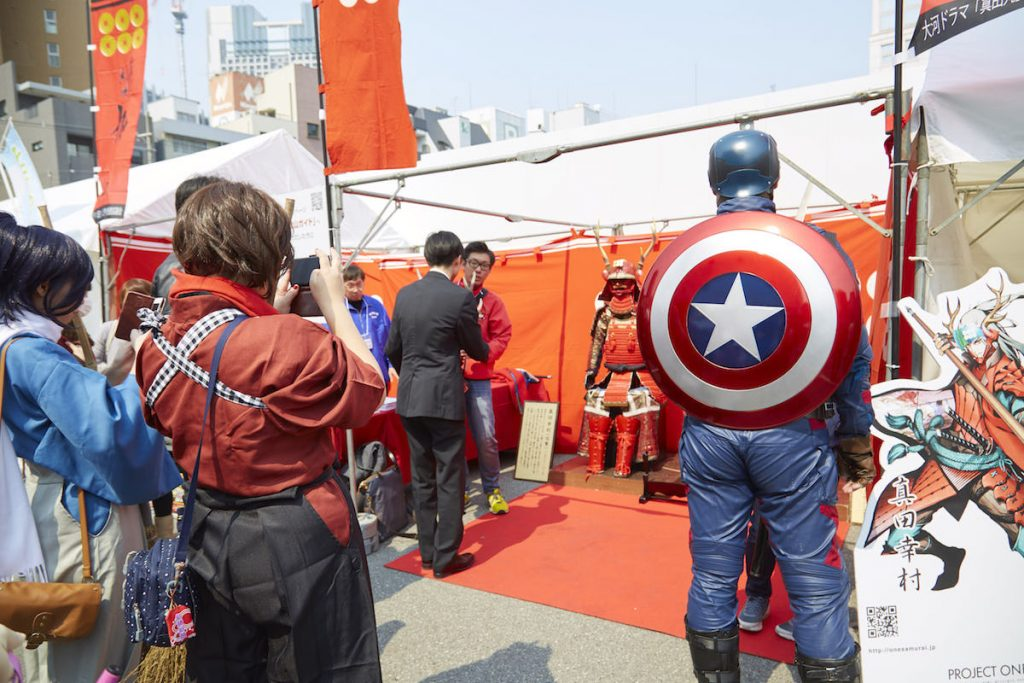 Nipponbashi Street Festival 2017 Cosplay Photo Report | Captain America's Shield