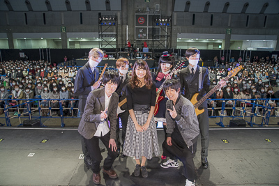 Music anime Fukumenkei Noise held a pre-broadcast event on the final day of AnimeJapan 2017.