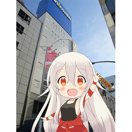 Anime Urara Meirochou Collaborates with Animate Stores
