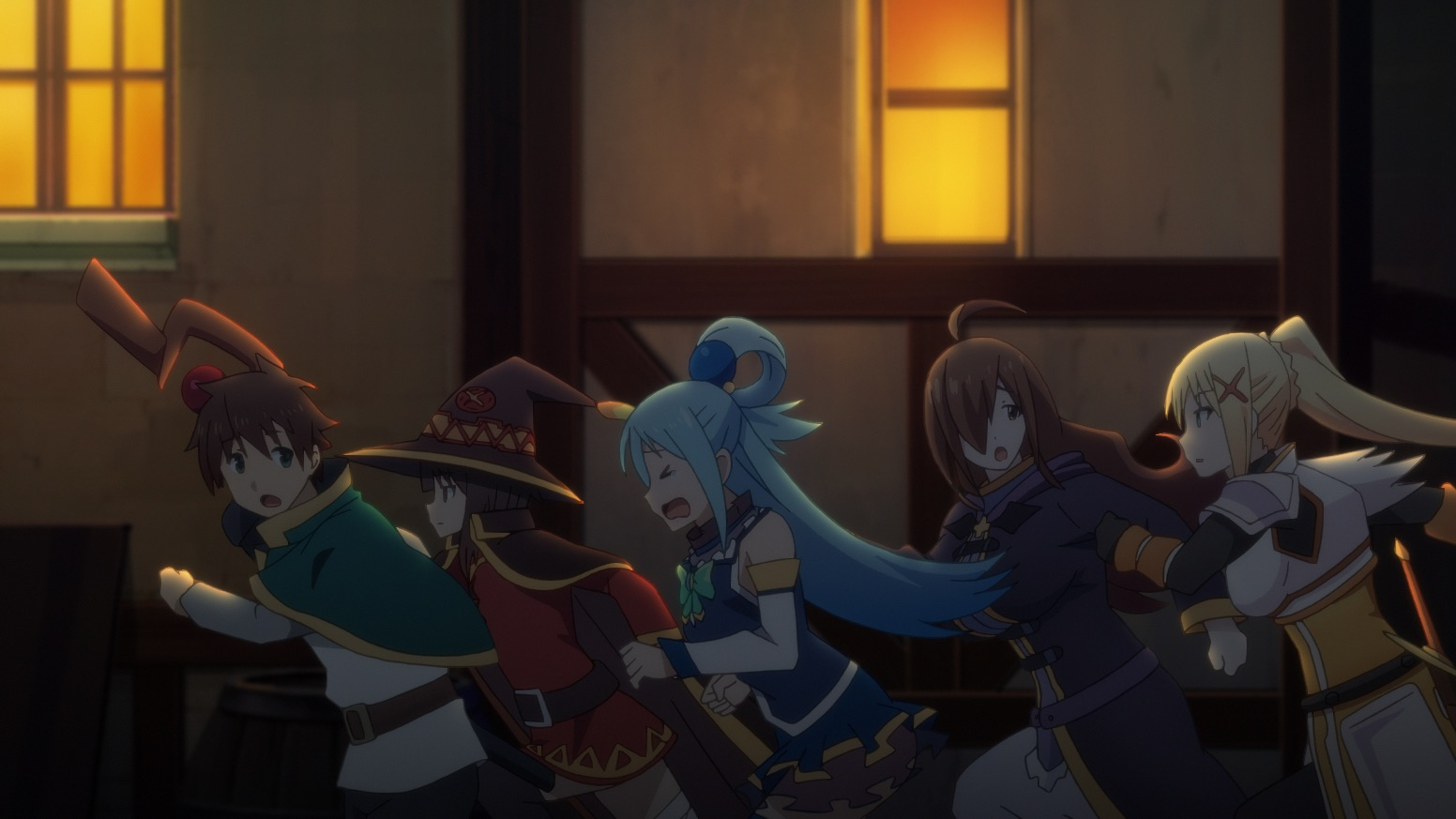 'KonoSuba 2': Official Anime Screenshots from Episode 10