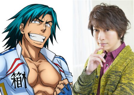 Yowamushi Pedal NEW GENERATION anime: Masakiyo Doubashi on the left and Ono Daisuke on the right.