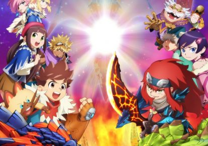 Monster Hunter Stories Ride On Anime
