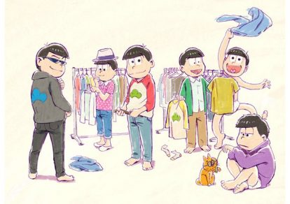 Osomatsu-san Season 2 Anime Visual