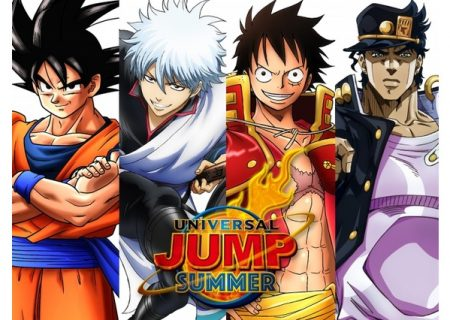 Shonen Jump works such as One Piece, Dragon Ball, JoJo's Bizarre Adventure and Gintama