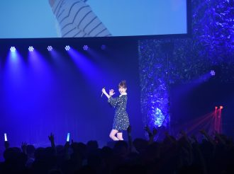 Yurika Kubo Performs her New Album Song at AJ Night 2017