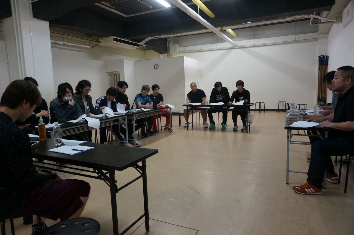 Cast of 'All Out!! The Stage' Begin Rehearsals