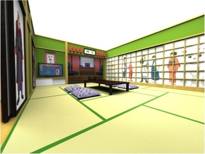'Gintama' Hotel Room