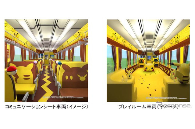 Sightseeing wagon 'Pokémon with You Train'