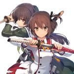 Original Anime Toji no Miko Visual