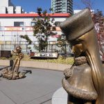 Let's Visit Nerima Ward, the Birthplace of Anime | The character monument at Oizumi Anime Gate