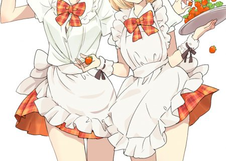Asagao to Kase-San Short Anime and Manga | Apron to Kase-San