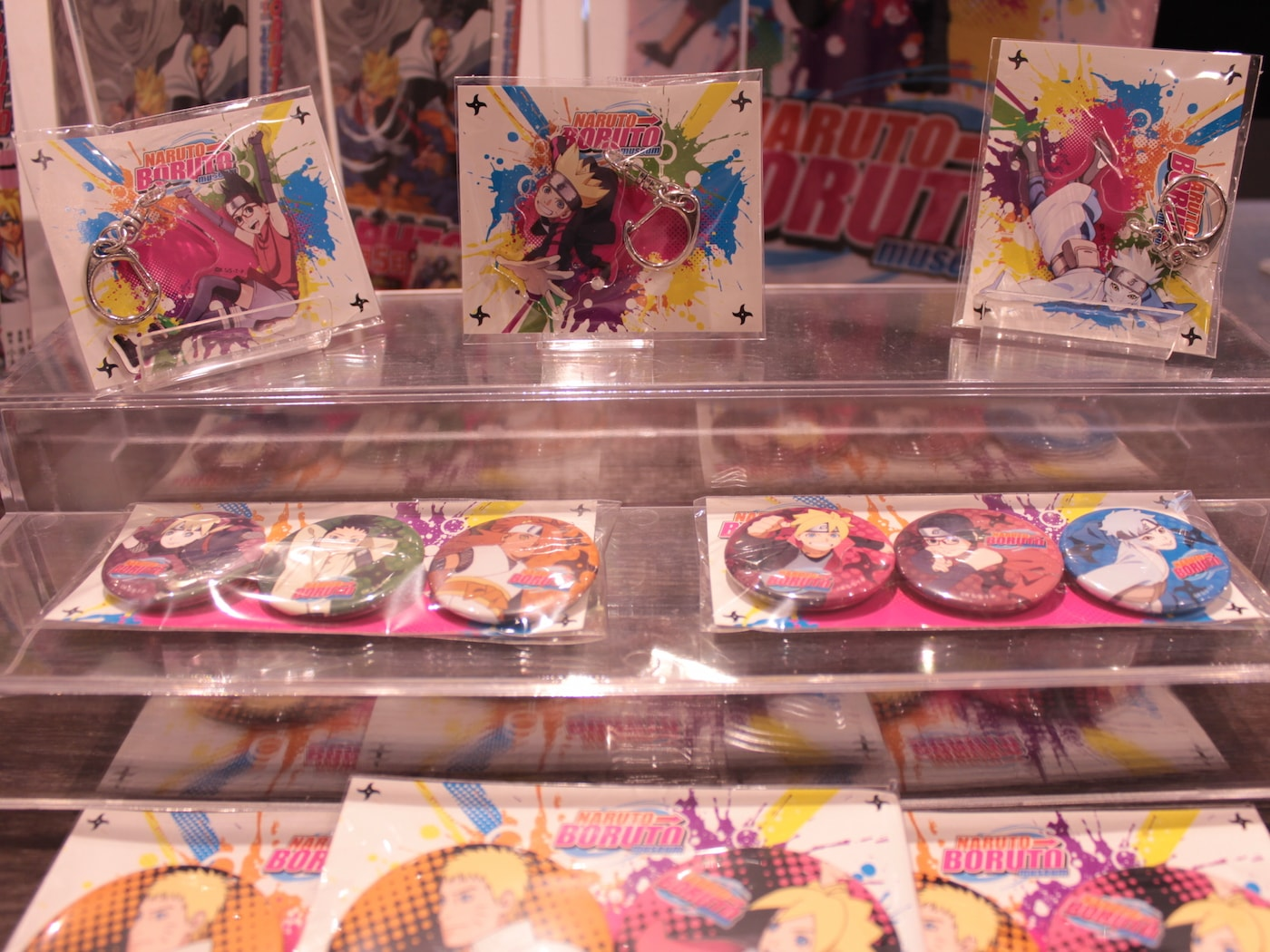 ARUTO⇒BORUTO Museum Report: An Exhibition About the History of Naruto and Boruto   Merchandise