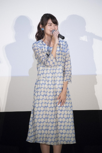 Yuuki Kaneko at the 'Koe no Katachi' Blu-ray & DVD Announcement Celebration Event Stage Greeting