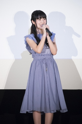 Yui Ishikawa at the 'Koe no Katachi' Blu-ray & DVD Announcement Celebration Event Stage Greeting