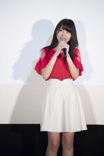 Saori Hayami at the 'Koe no Katachi' Blu-ray & DVD Announcement Celebration Event Stage Greeting