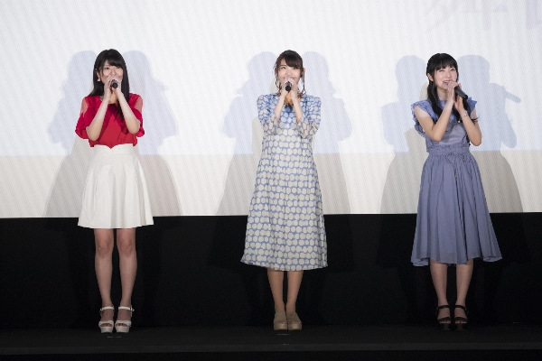 Saori Hayami | Yuuki Kaneko | Yui Ishikawa | at the 'Koe no Katachi' Blu-ray & DVD Announcement Celebration Event Stage Greeting