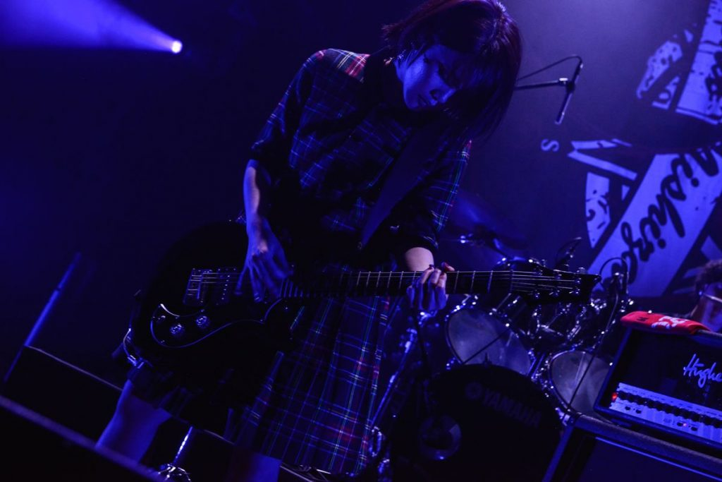 From the first solo concert of singer-songwriter Shiena Nishizawa, 'Break your Fate'