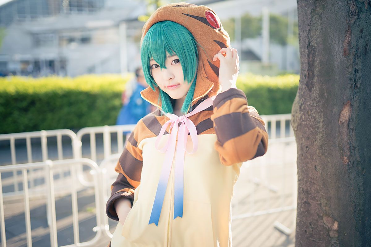 Cosplay and Anime | Beautiful Cosplayers From Chokaigi 2017 | Ayato Nikukyu (Kemono Friends Tsuchinoko)