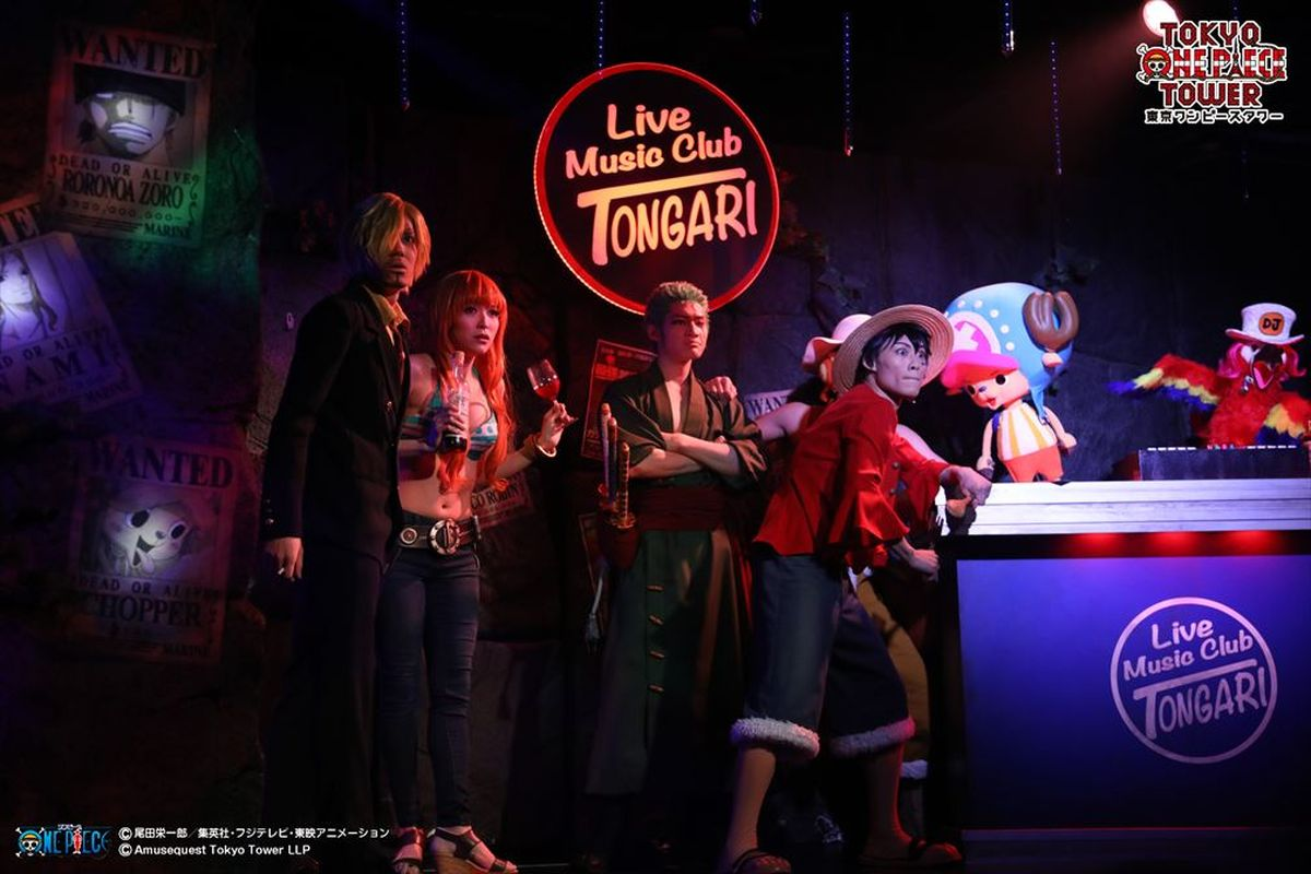 Tokyo One Piece Tower | One Piece Live Attraction |
